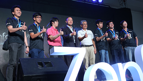 Team Robotix was named grand champion of the first Asus Hackathon competition
