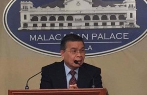 DICT secretary Rudy Salalima during the press briefing in Malacanang. Photo credit: Facebook page of Henry Uri