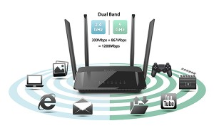 D-Link DIR-842 The Perfect Wireless Router for Home Entertainment