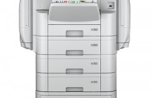 The Epson WF-C869R can print up to 86,000 pages per minute.