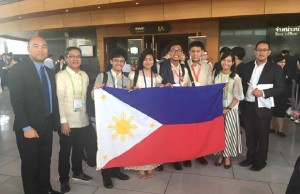 The Philippine team