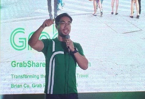 Grab PH country manager Brian Cu