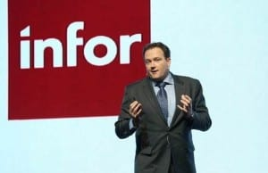 Cas Brentjens, Infor's solution consulting director for Asia Pacific and Japan