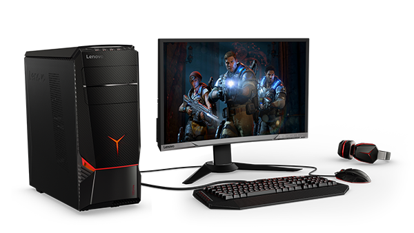 Lenovo Legion Y720 Tower with Lenovo Legion monitor & accesories