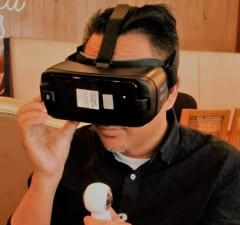 Trying out Samsung Gear VR 2017