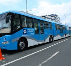 The DOST has developed a Hybrid Electric Road Train which the government can deploy for its BRT projects
