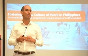 Microsoft Philippines chief operating officer Cian O'Neill