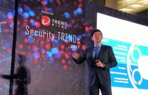 Trend Micro's Richard Sheng: We have introduced machine learning to combat ransomware. (EKU)