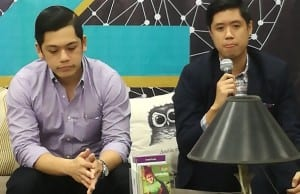 Acceler8 co founders Carlo Coronel and Mikko Barranda