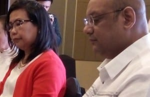 Department of Information and Communications Technology director Tess Camba (left) and Assist Asia group managing director Sreenivas Narayanan