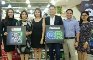 From L-R: Nice Basas, store manager at Robinsons Department Store Galleria; Olive Victorino, operations manager at Robinsons Department Store; Gina Salgado, vice president of Robinsons Business Center; Raymund Villanueva, head of issuing at PayMaya Philippines; Roy Gonzalez, key accounts officer at PayMaya Philippines; and Joyce Anne Ramos, key accounts officer at PayMaya Philippines