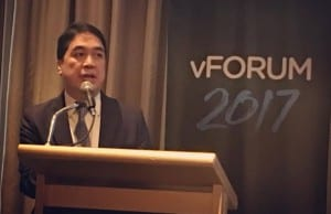 VMware PH country manager Victor Silvino