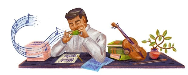 Google honors Levi Celerio with doodle on his 108th birthday