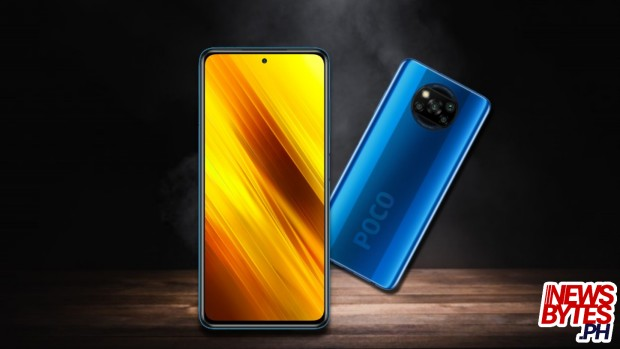 The Xiaomi Poco X3 NFC smartphone with 240Hz screen and LiquidCooling gaming smartphone.