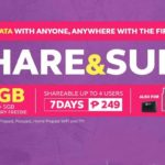 Globe intros 'first' shareable data promo with Share&Surf249